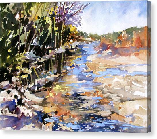 Pedernales Escape Canvas Print