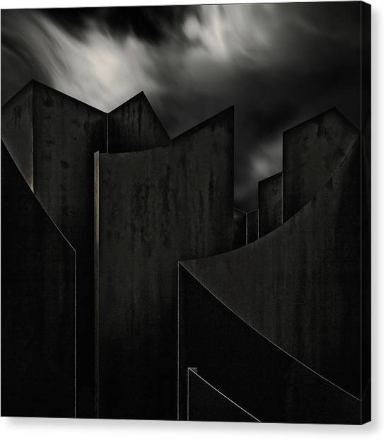 Abstraction Canvas Print - Perdidi by Gilbert Claes
