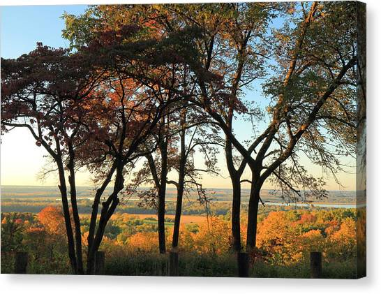 Marquette University Canvas Print - Pere Marquette State Park by Scott Rackers