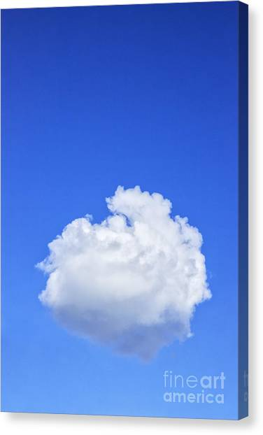 Clouds Canvas Print - Perfect Cloud by Colin and Linda McKie
