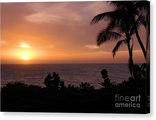 Perfect End To A Day Canvas Print