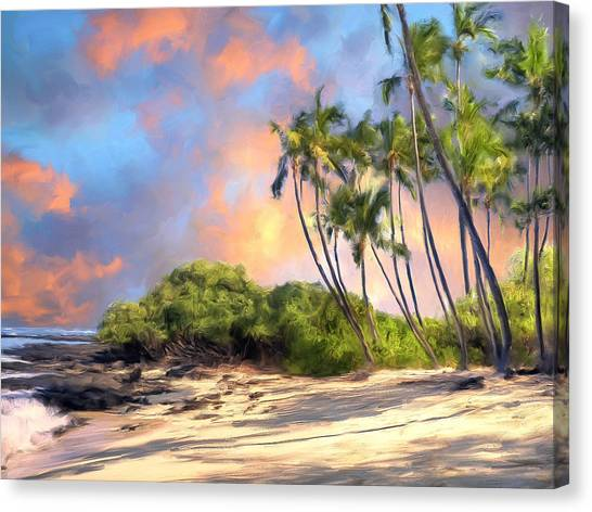 Mauna Loa Canvas Print - Perfect Moment by Dominic Piperata
