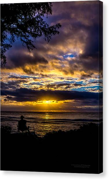 Perfect Morning Canvas Print