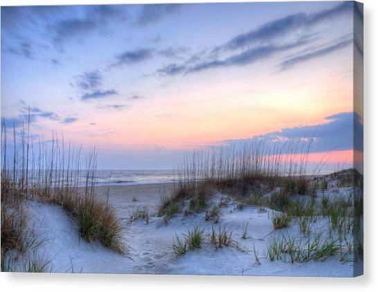 Beach Sunsets Canvas Print - Perfect Skies by JC Findley