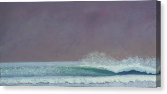 Perfect Wave Canvas Print by Kent Pace