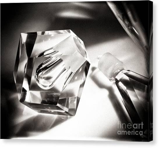 Art Deco Perfume Bottle Canvas Print