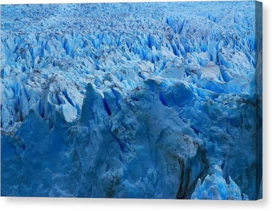 Perito Moreno Glacier Canvas Print - Perito Moreno Glacier by FireFlux Studios
