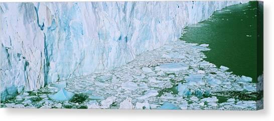 Andes Mountains Canvas Print - Perito Moreno Glacier In The Los by Martin Zwick