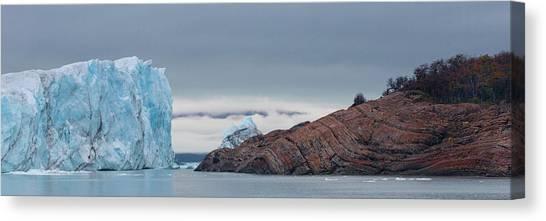 Perito Moreno Glacier Canvas Print - Perito Moreno Glacier, Lake Argentino by Panoramic Images