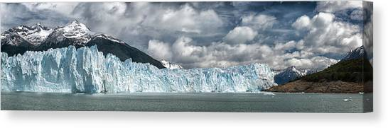 Perito Moreno Glacier Canvas Print - Perito Moreno Glacier Off The South by Alvis Upitis