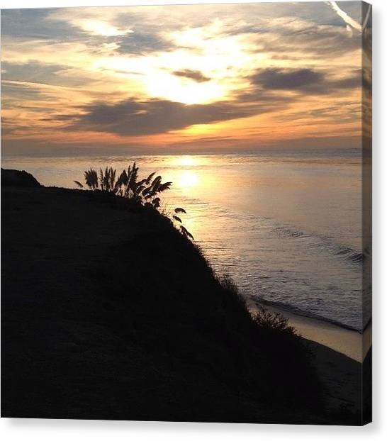 Ucsb Canvas Print - Perks Of Being A Morning Bird by Mckenzie Kane