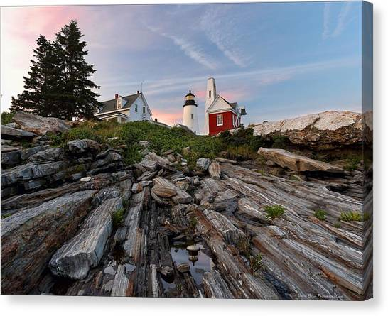 Permaquid At Twilight Canvas Print