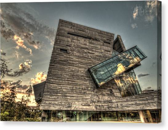 Perot Museum Canvas Print