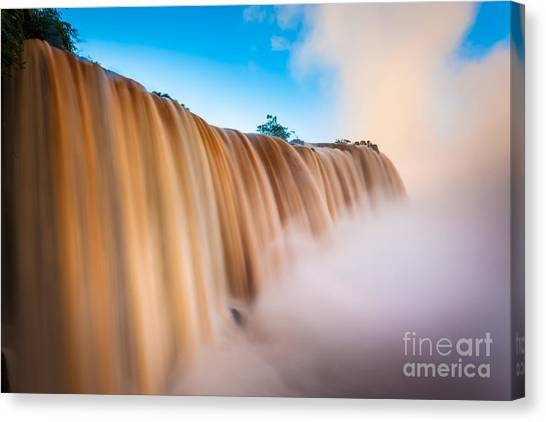 Iguazu Falls Canvas Print - Perpetual Flow by Inge Johnsson