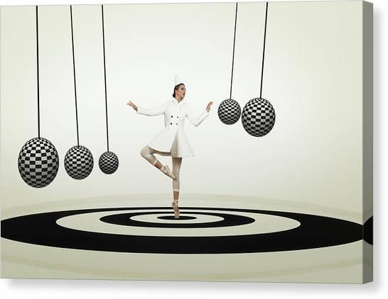 Balls Canvas Print - Perpetuum Mobile by Christine Von Diepenbroek