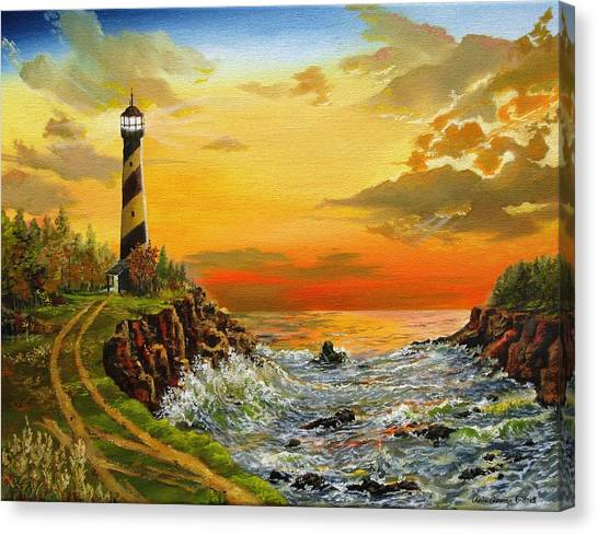Perry's Point Canvas Print