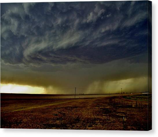 Perryton Supercell Canvas Print