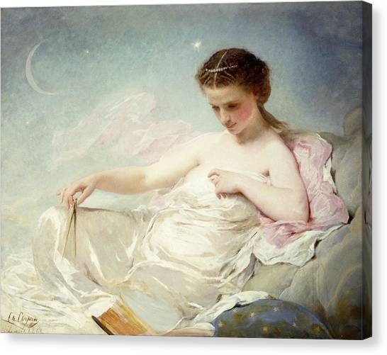 Academic Art Canvas Print - Personification Of The Sciences by Charles Chaplin