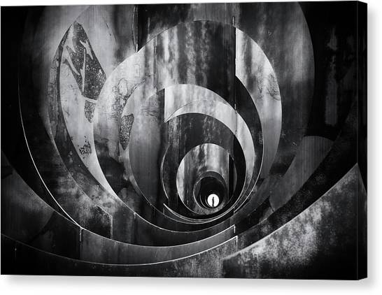 Tunnels Canvas Print - Perspective by Frank Dalemans