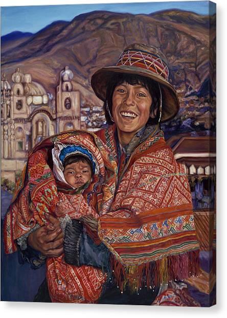 Peruvian Joy Canvas Print
