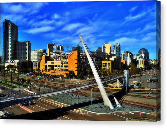 San Diego Padres Canvas Print - Petco Park by See My  Photos