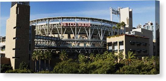 San Diego Padres Canvas Print - Petco Park by Stephen Stookey