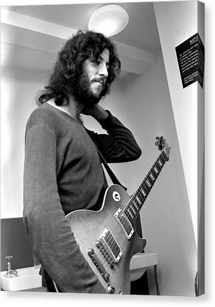 Mac Canvas Print - Peter Green Fleetwood Mac 1969 by Chris Walter