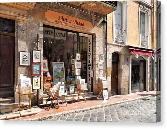 Petit Arts In France Canvas Print