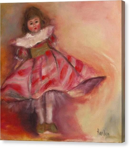 Petite Cisette Canvas Print by Susan Hanlon