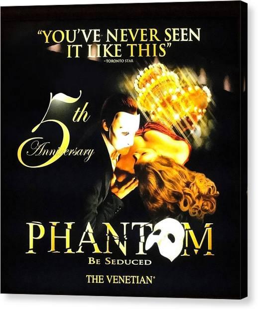Phantom At The Venetian Canvas Print