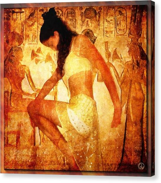 Pharaohs Daughter Canvas Print by Gun Legler