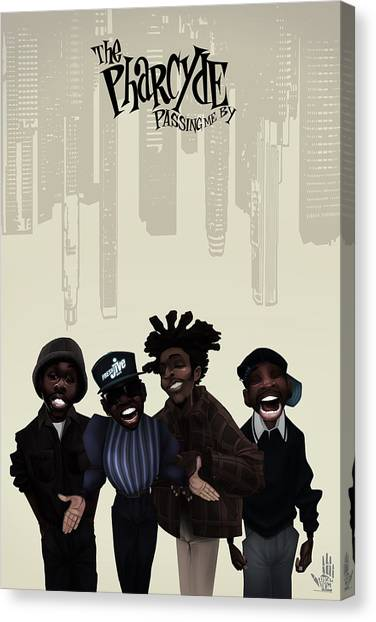 Pharcyde -passing Me By 1 Canvas Print