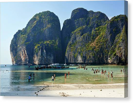 Phi Phi Island Canvas Print - Phi Phi Island, Thailand by Andrea Pistolesi