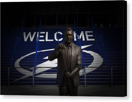 Phil Esposito Says II Canvas Print