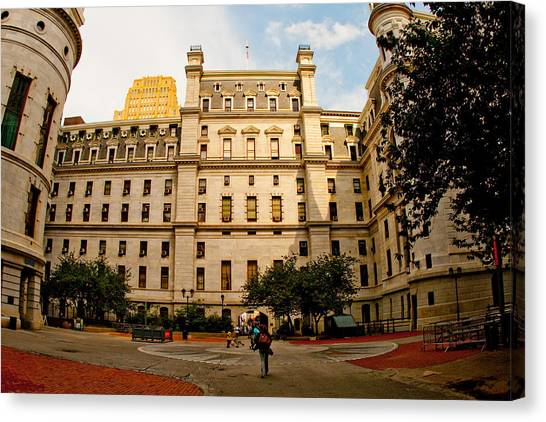 Philadelphia City Hall Canvas Print