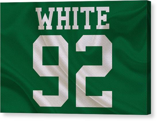 Reggie White Canvas Print - Philadelphia Eagles Reggie White by Joe Hamilton