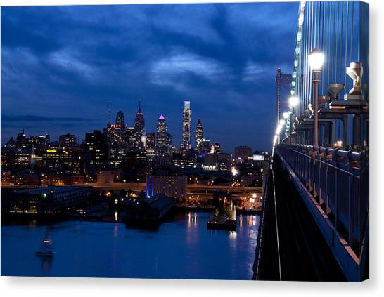 Philadelphia Twilight Canvas Print