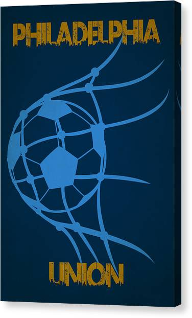 Soccer Teams Canvas Print - Philadelphia Union Goal by Joe Hamilton