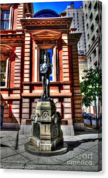 Philadelphia Union Canvas Print - Philadelphia -union League 2 by Constantin Raducan