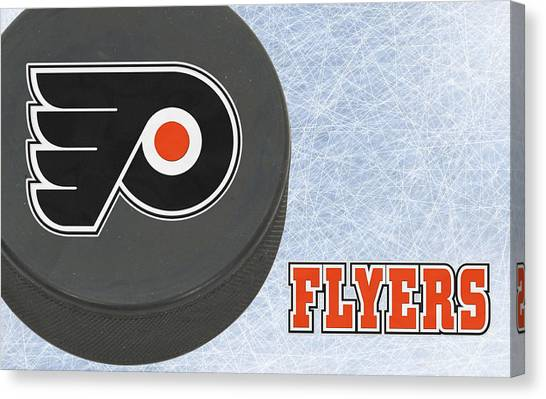 Philadelphia Flyers Canvas Print - Philadephia Flyers by Joe Hamilton