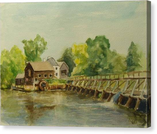 Philipsburg Manor Tarritown Canvas Print