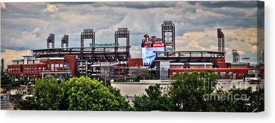 Phillies Stadium Canvas Print
