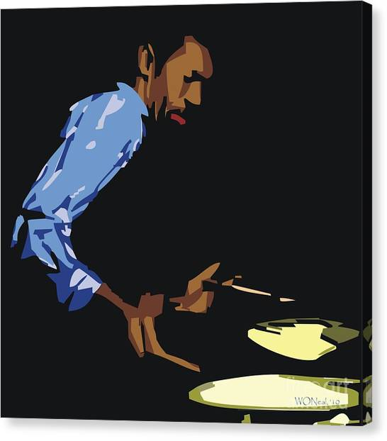 Philly Joe Jones Canvas Print