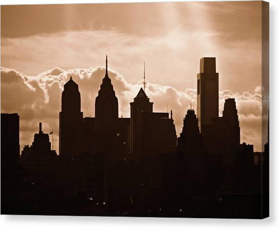 Philly Skyline Canvas Print