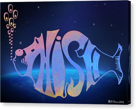 Phish Canvas Print