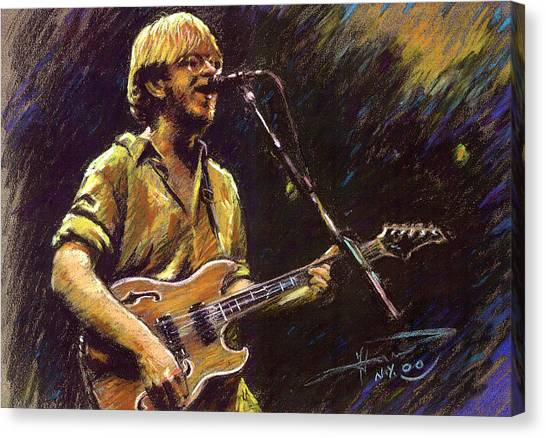 Psychedelic Canvas Print - Phish by Ylli Haruni