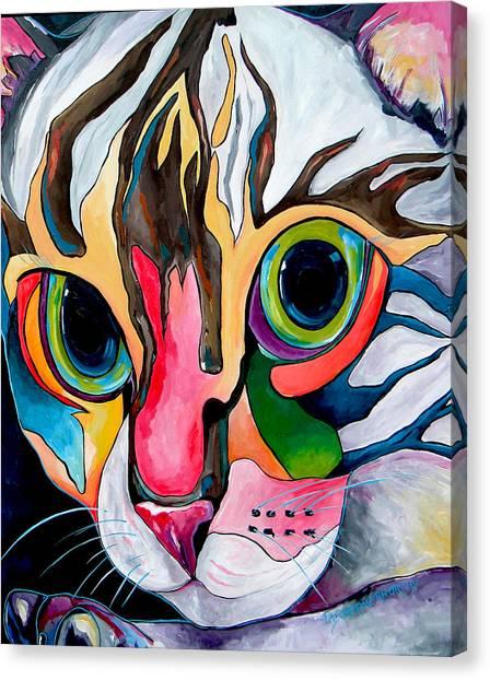 Phoebe Blu Canvas Print