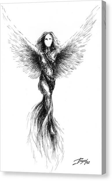 Phoenix Canvas Print by Boyan Donev