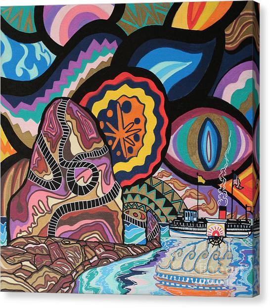 Phoenix Canvas Print by Carlos Martinez