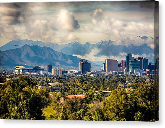 Phoenix Downtown Canvas Print
